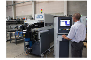 The control systems for Jörg Neu's machines have been provided by Mitsubishi Electric since 1996