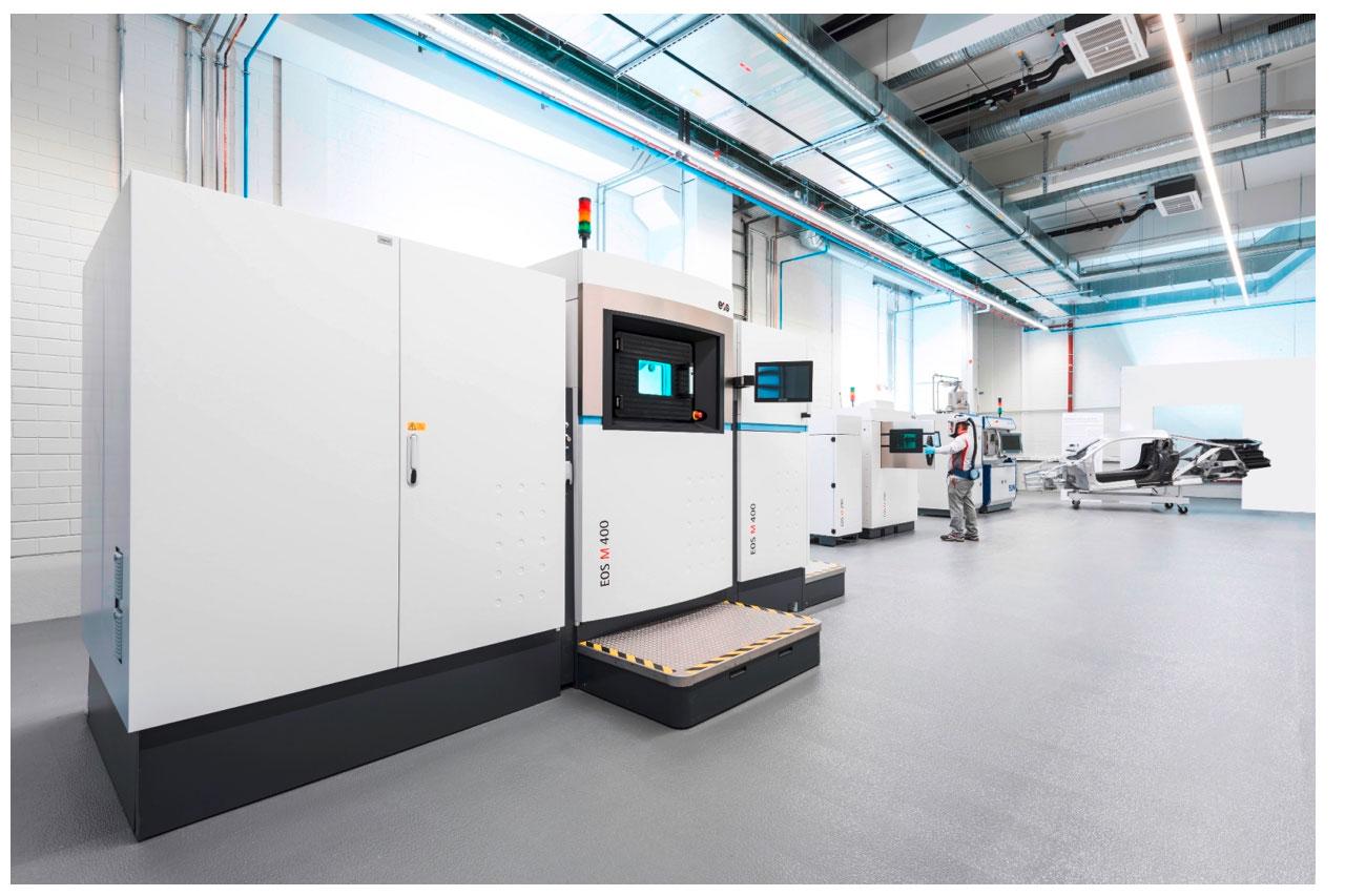 II EOS M 400 direct metal laser printer system