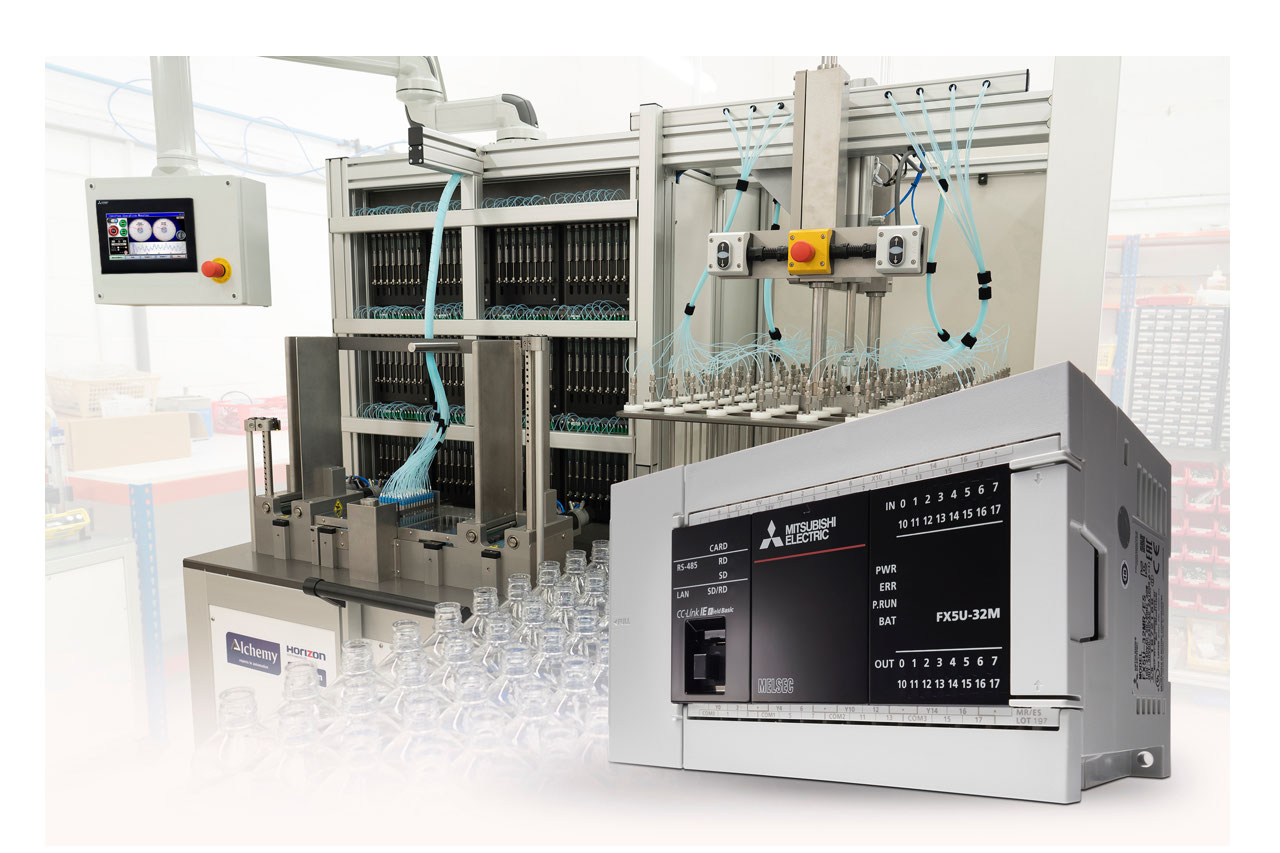 Mitsubishi Electric's OEM Developer's Kit consists of a PLC, HMI and programming software that can be used to develop new machines for a wide range of manufacturing and process industries.