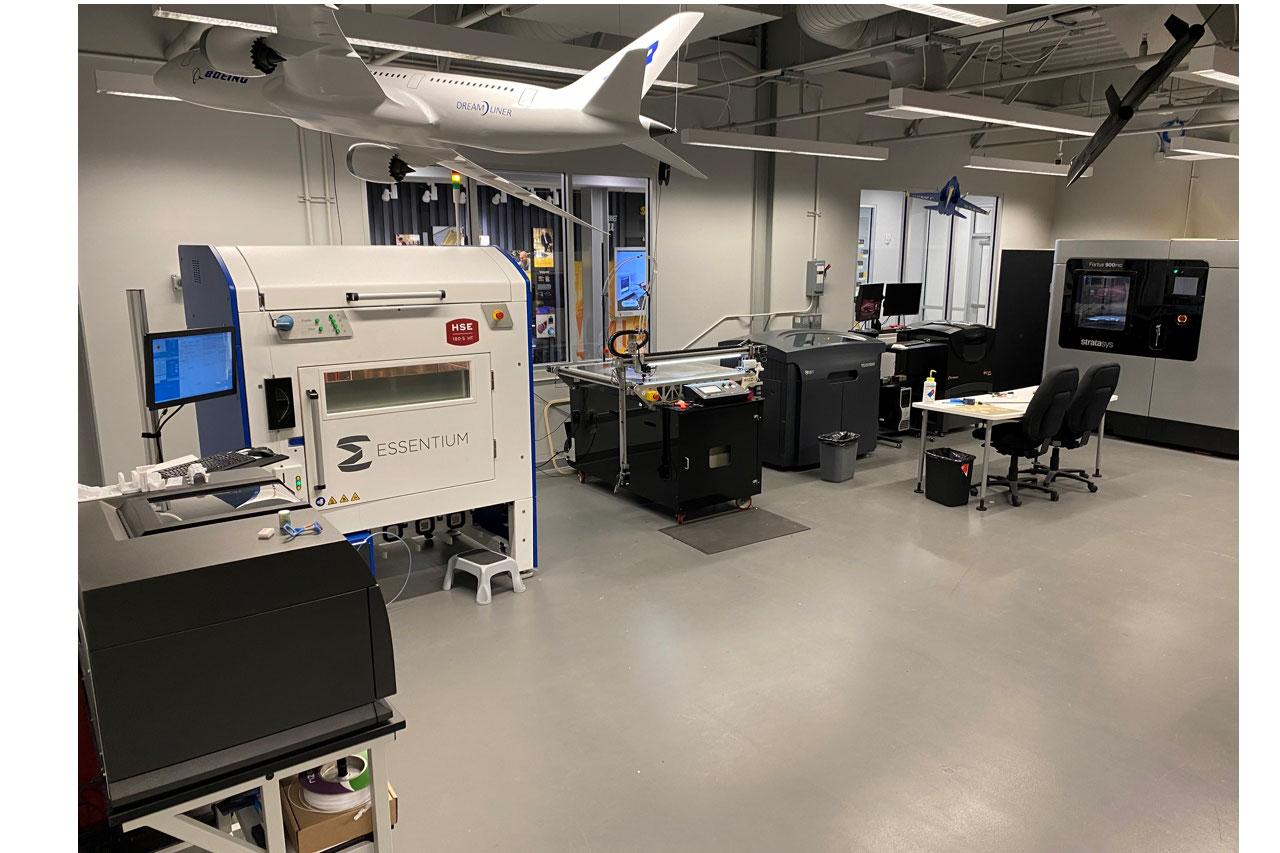 Essentium HSE at NIAR facility