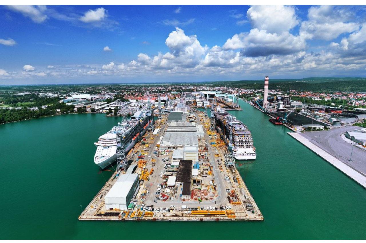 Comau ship yards