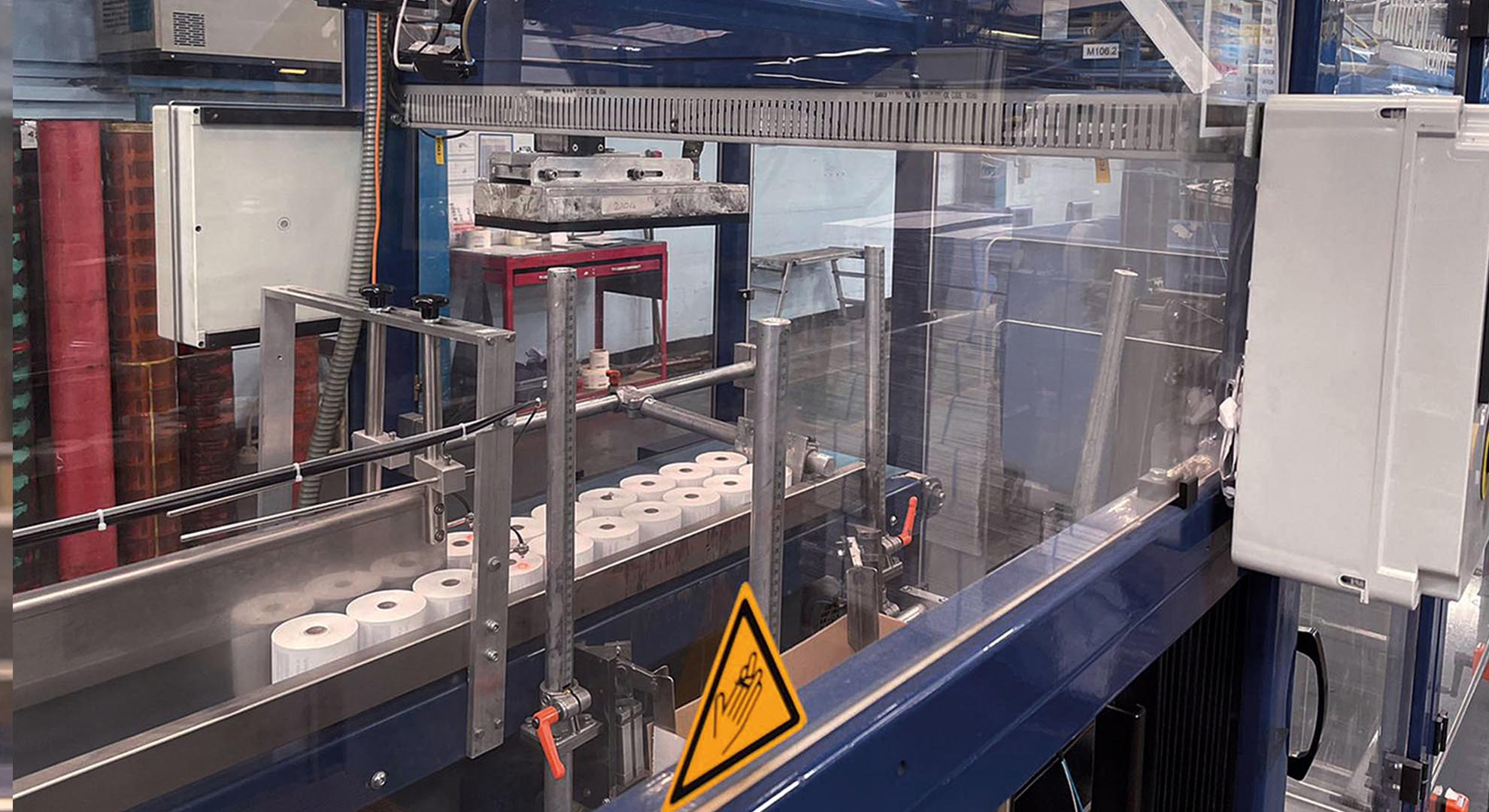 Mitsubishi Electric has supported Optimation in an automated till roll packing system upgrade project.  [Source: Mitsubishi Electric Europe B.V.]