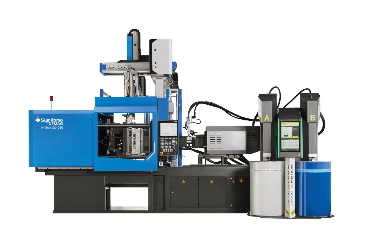 IntElect including an LSR packageshowcases state-of-the-art elastomer injection moulding