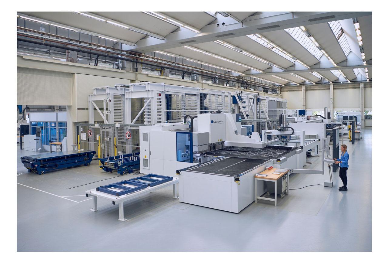 TGB948 TRUMPF Smart Factory