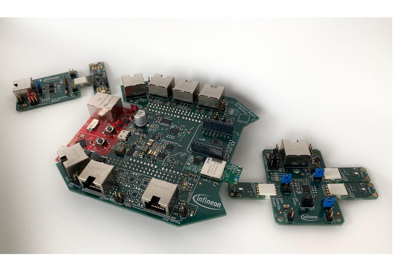 XENSIV PM Board w satellites