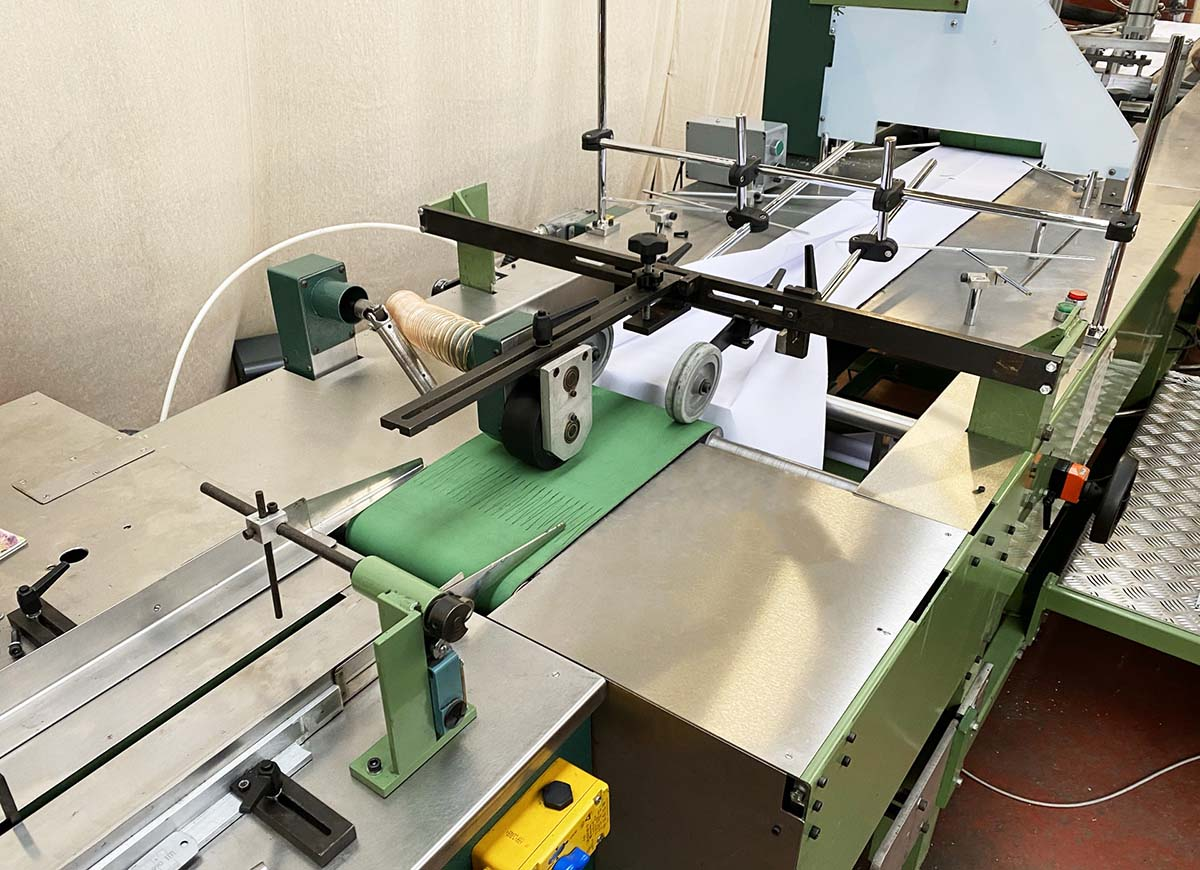 Mitsubishi Electric has supported Mailroom Machines in the redesign of a mail wrapping machine to accommodate the use of sustainable packaging materials while eliminating waste.